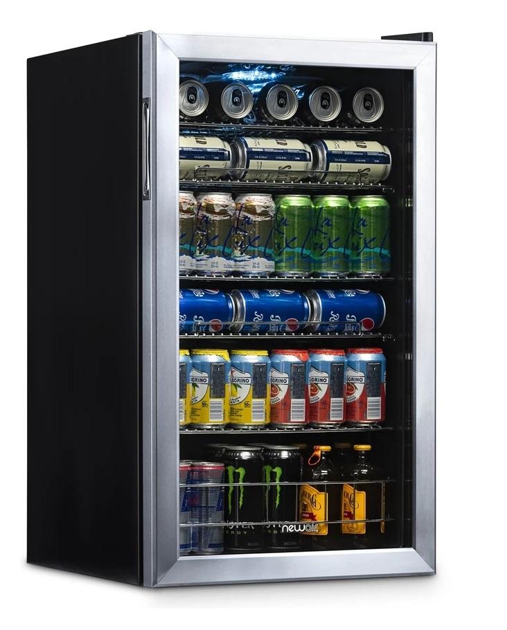 NewAir Beverage Refrigerator Cooler AB-1200 review 2021
