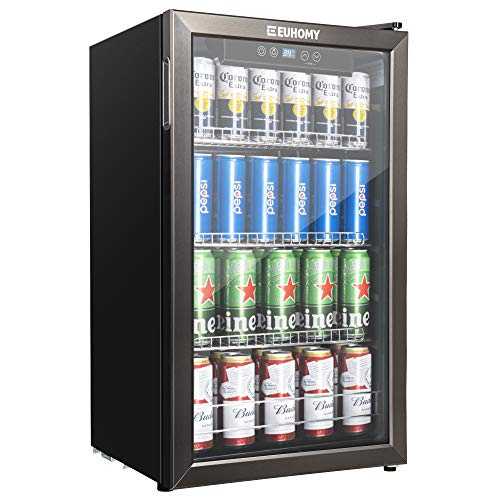Euhomy Beverage Refrigerator Cooler Review 2021