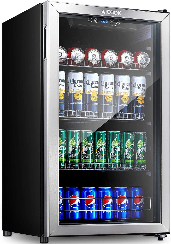 Aicook Beverage Refrigerator and Cooler
