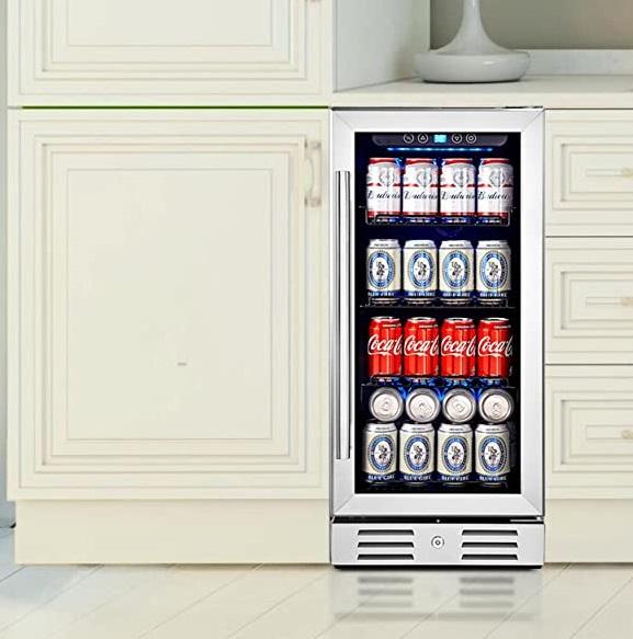 Kalamera 15″ Under Counter Beverage Refrigerator/ Cooler Specs
