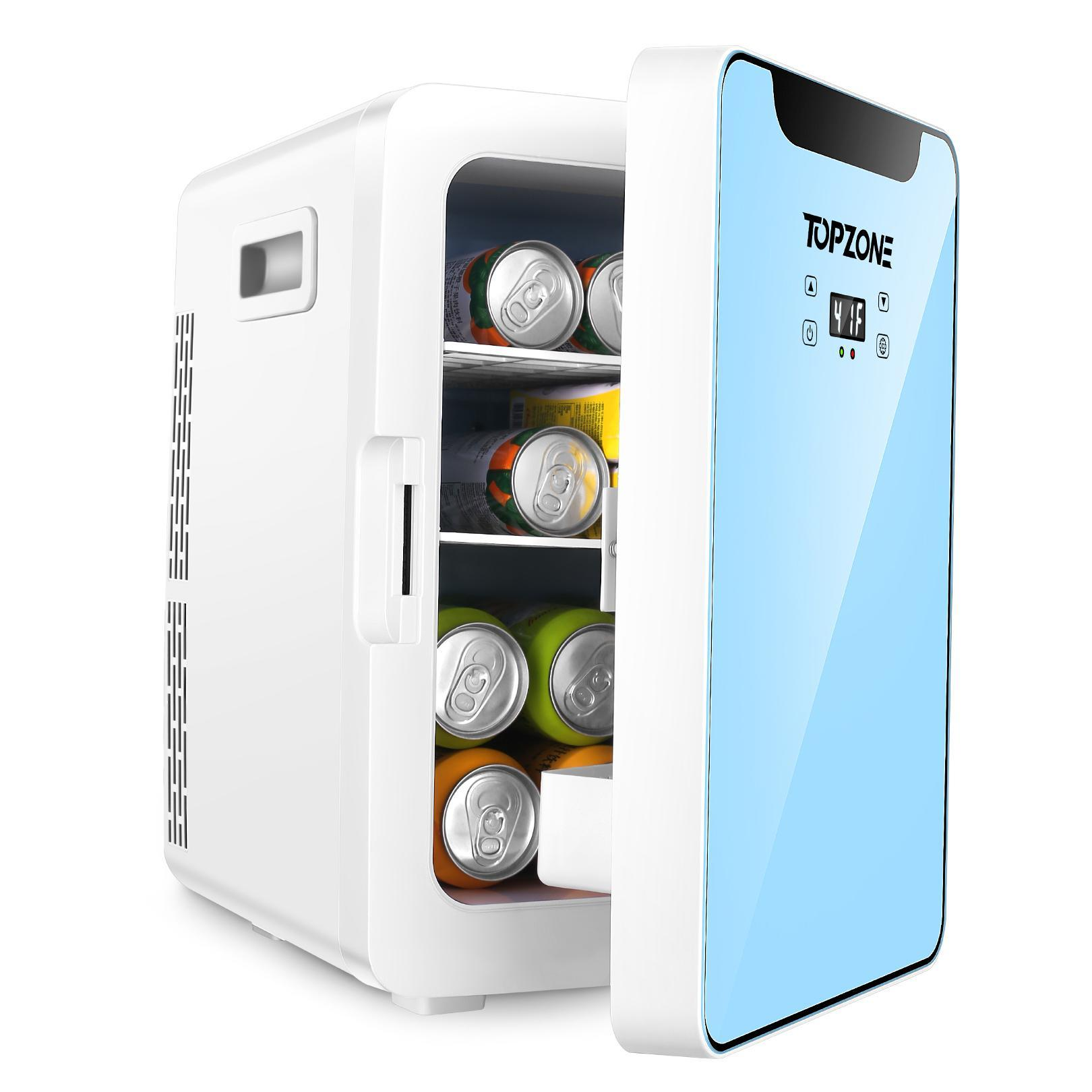TOPZONE Portable Beverage Mini Fridge 20L  Review 2021