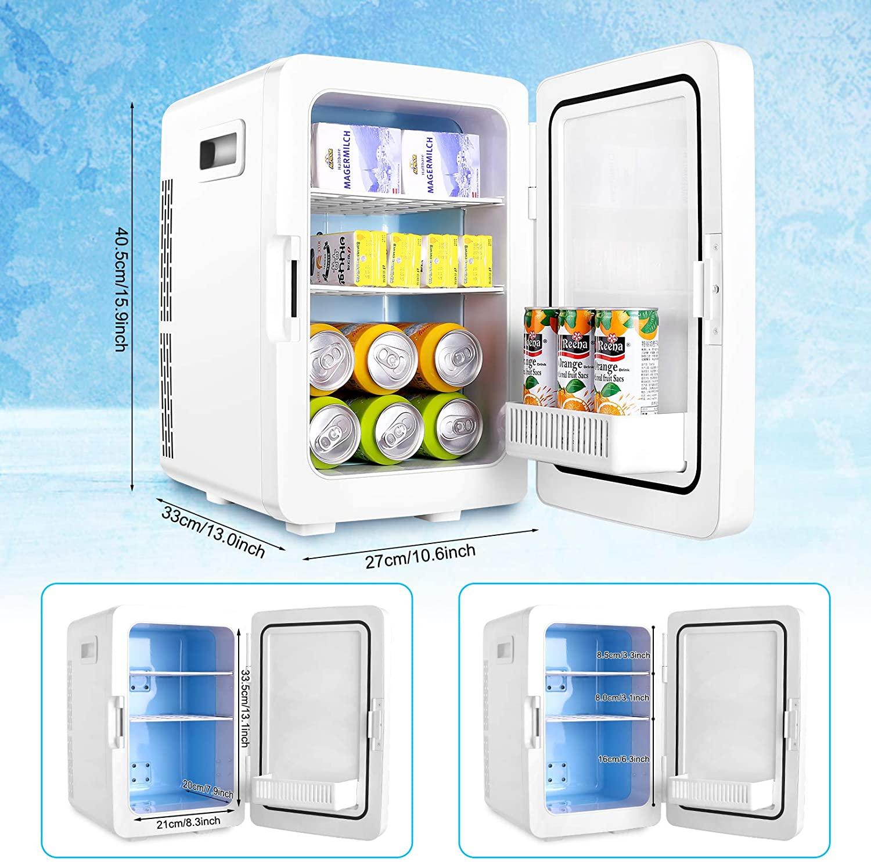 TOPZONE Portable Beverage Mini Fridge 20L  specs 2021