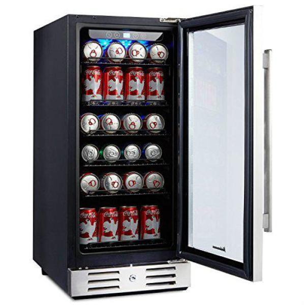 "Kalamera 15"" Beverage Cooler Review 2021 Best 15 / 24 inch Under Counter Beverage Refrigerator 2021"