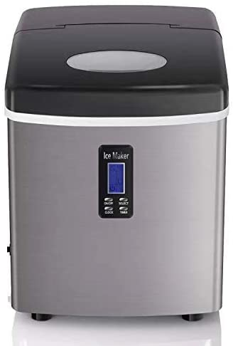 COOLLIFE 35lbs Ice Maker Machine for Countertop