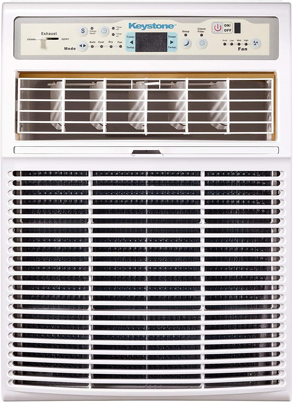 Keystone 10,000 BTU Slider Casement Window Conditioner