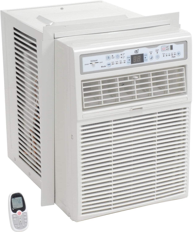 Global Industrial Casement Window Air Conditioner 10, 000 BTU