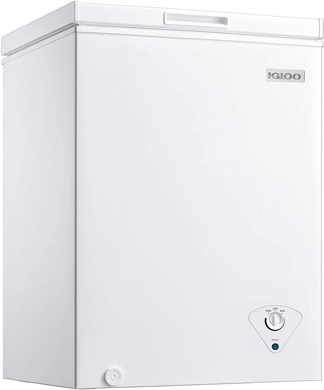 Igloo ICFMD50WH 5.0 Cu. Ft. Chest Freezer