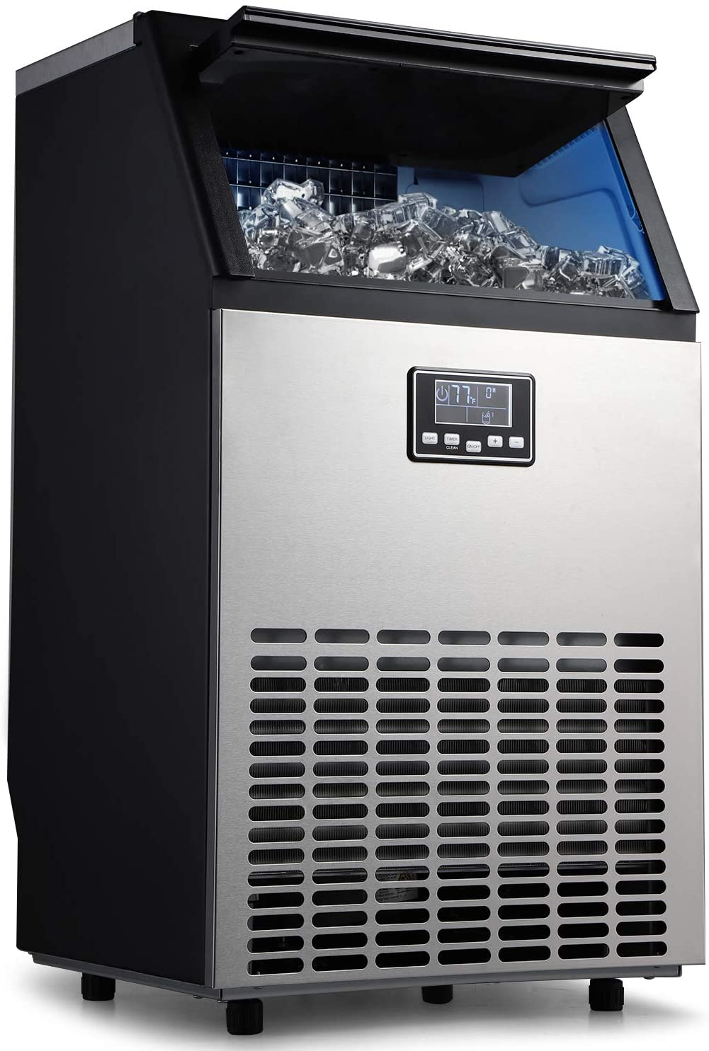 CoolLife Commercial Ice Maker 100lbs