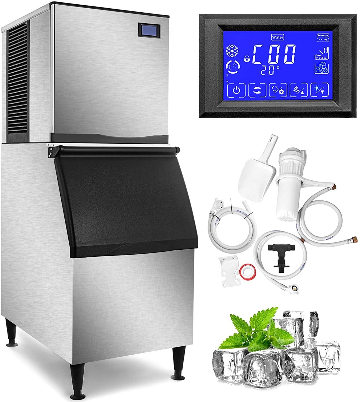 VEVOR 110V Commercial Ice Maker 400LBS/24H