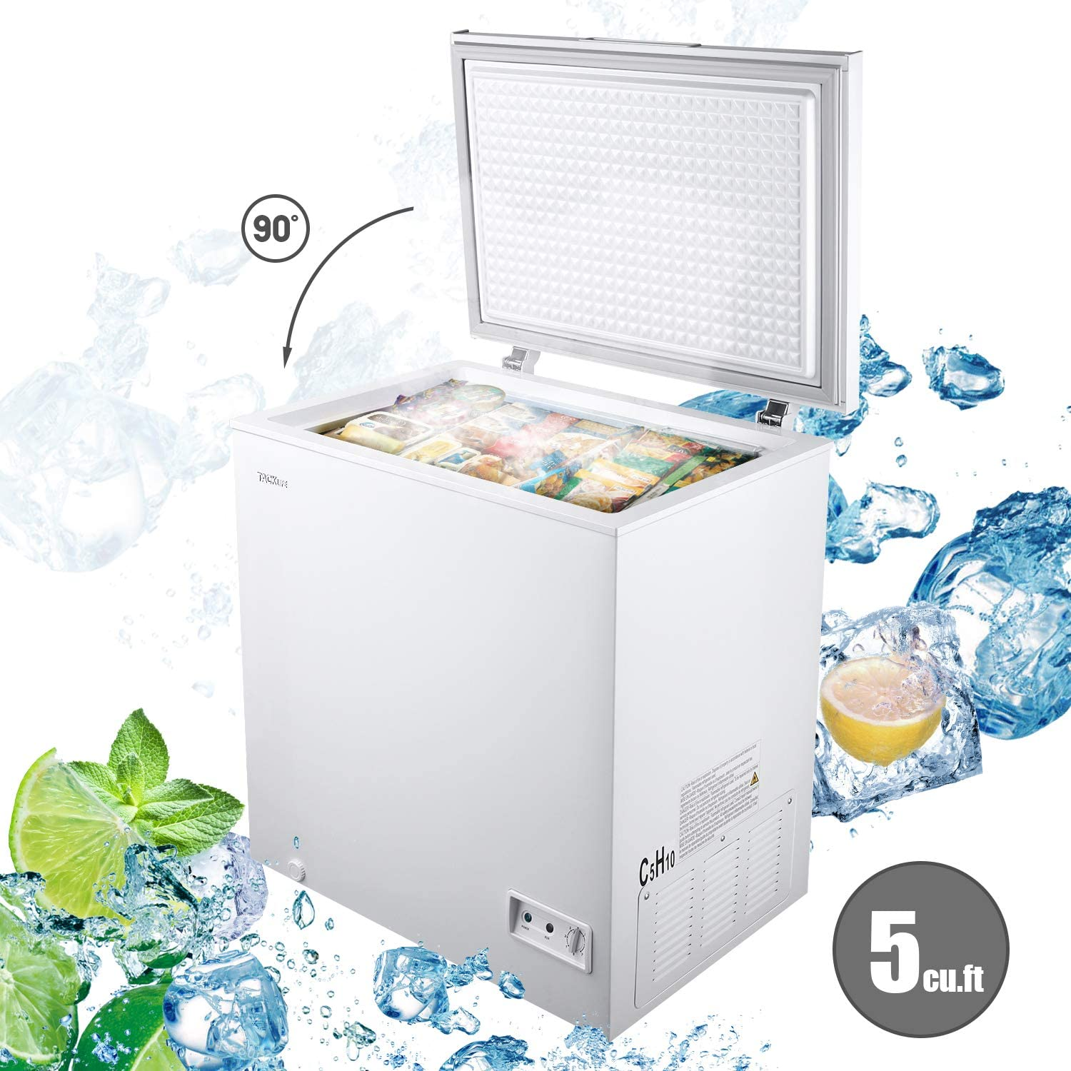 TACKLIFE 5 Cu.ft Chest Freezer review 2021