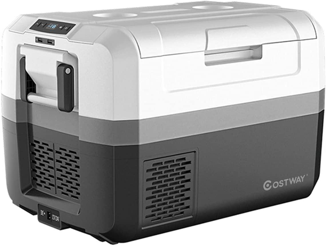 COSTWAY Portable Car Refrigerator
