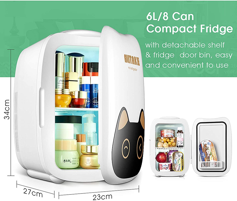 Alitake Skincare Portable Cooler mini Beauty Fridge Specs