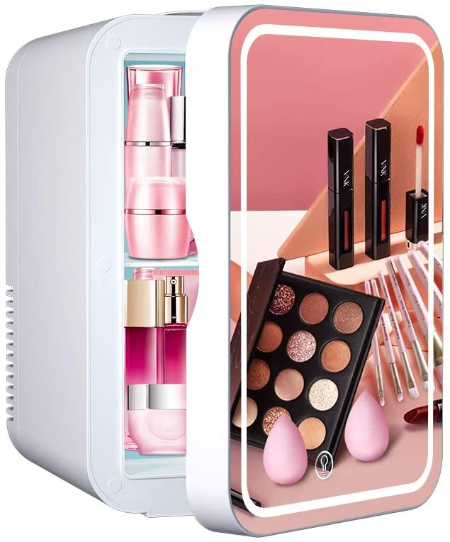 WERSEON Mini Fridge 6 Liter Portable Beauty Makeup Skincare Cosmetics Refrigerator