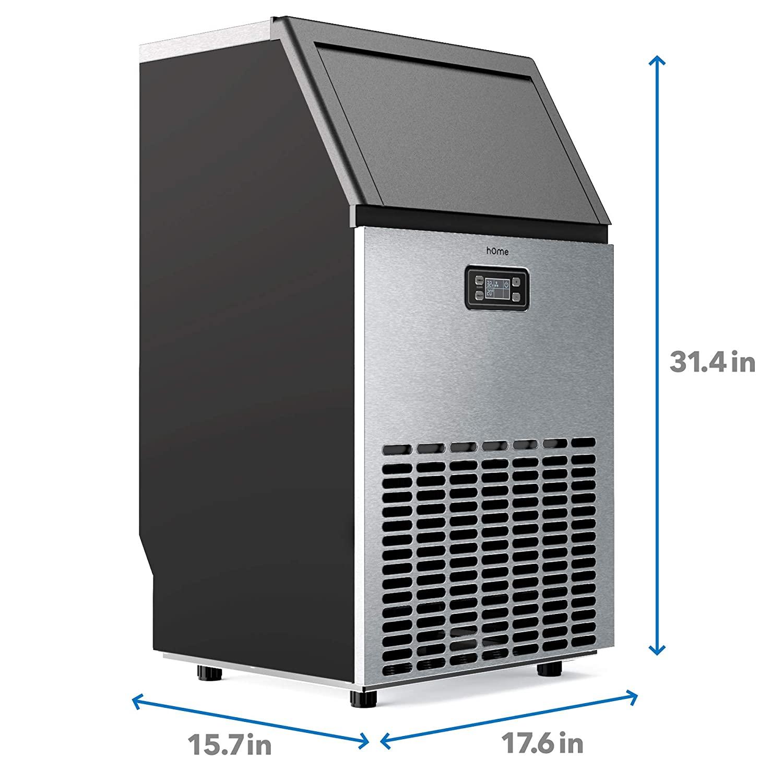 hOmeLabs Freestanding Commercial Ice Maker Machine Specs