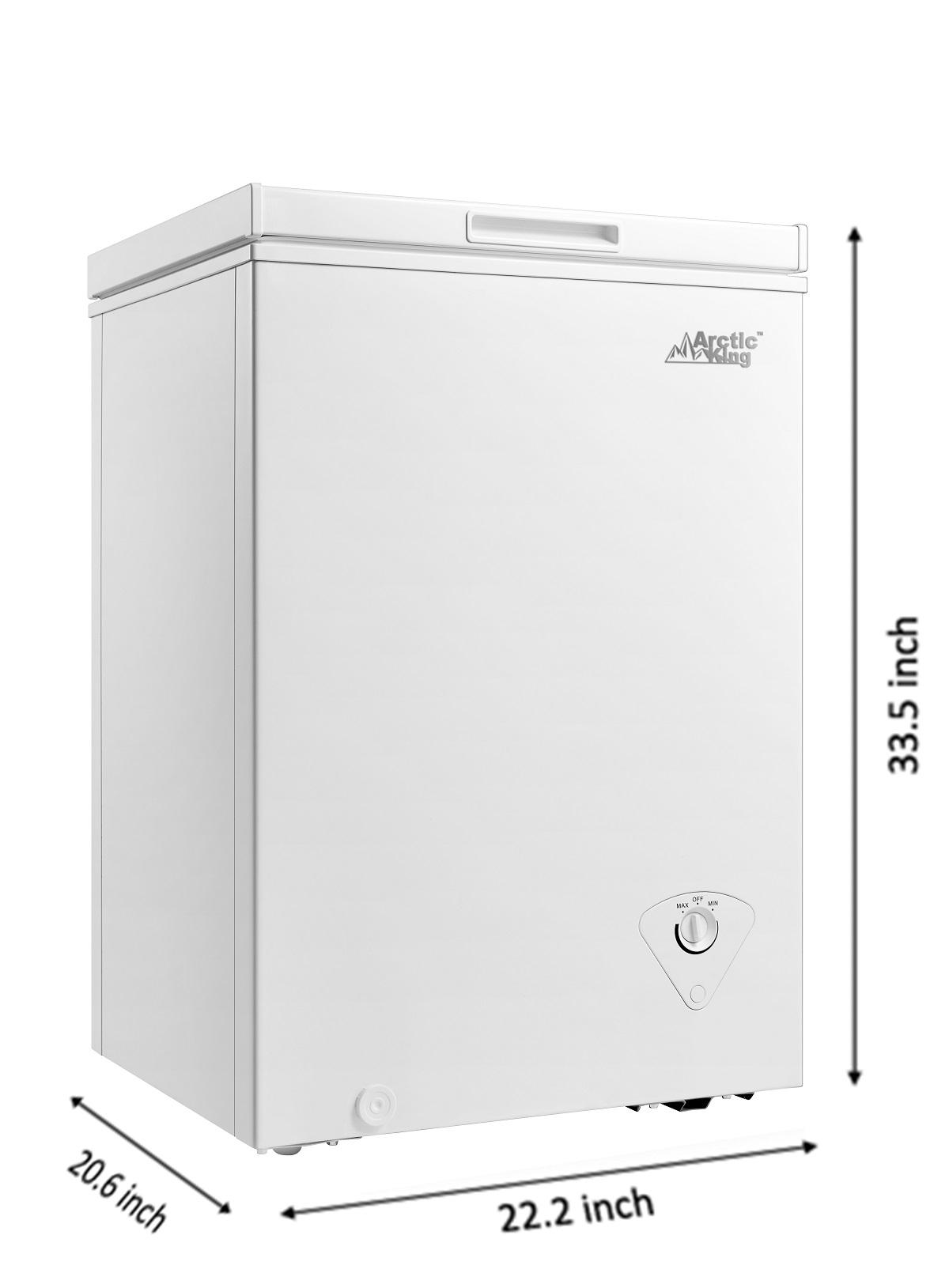 Arctic King 3.5 Cu Ft Chest Freezer Specs