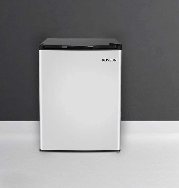 ROVSUN 2.1 Cu.Ft Mini Upright Freezer with Single Door