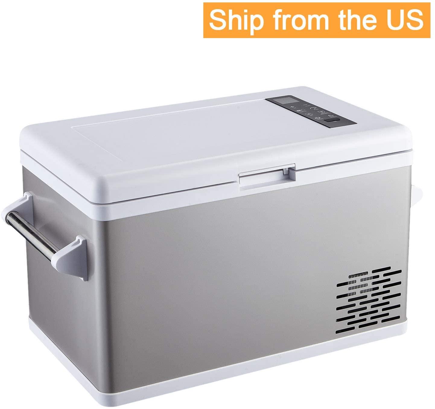 Aspenora 37-Quart Portable Fridge Freezer 12V Car