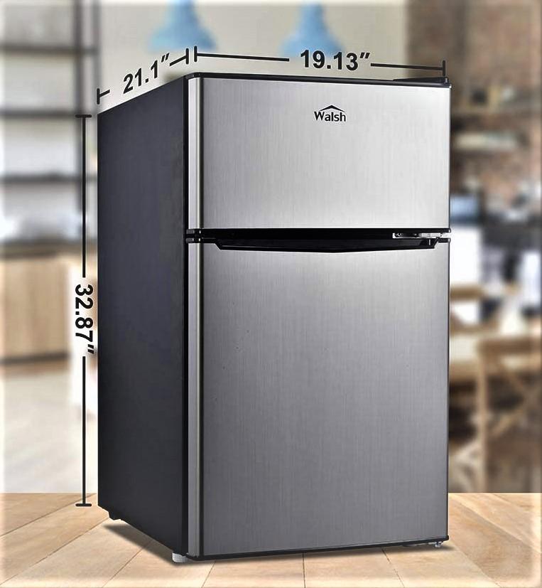 Walsh WSR31TS1  Dual Door Fridge with Freezer Specs