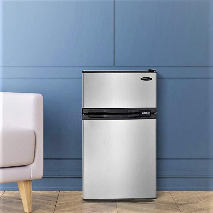 Danby DCR031B1BSLDD 3.1 Cu.Ft. Compact Refrigerator with Freezer