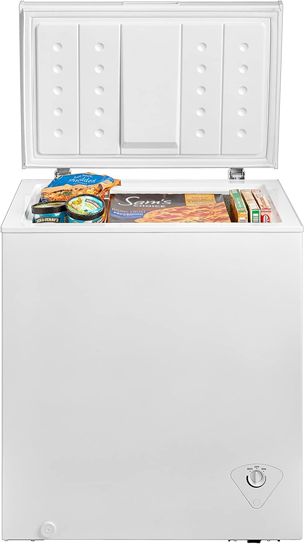 Midea WHS-185C1 Single Door Chest Freezer