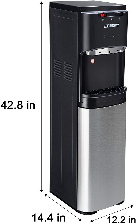 Euhomy Self Cleaning Bottom Loading Water Cooler Dispenser Specs