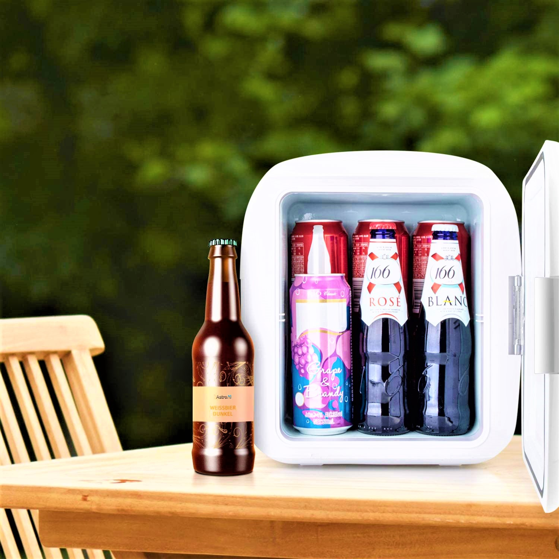 AstroAI Mini Fridge 9 Liter/12 Can Portable Electric Cooler and Warmer