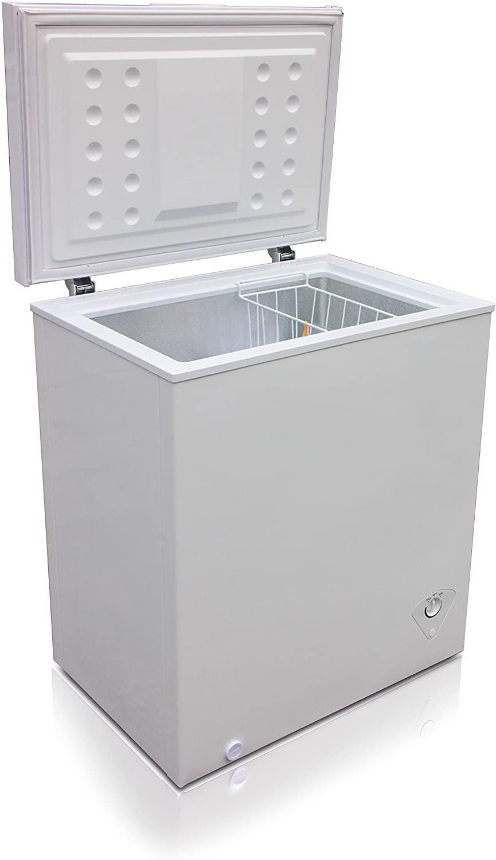 Midea WHS-185C1 Single Door Chest Freezer Specs