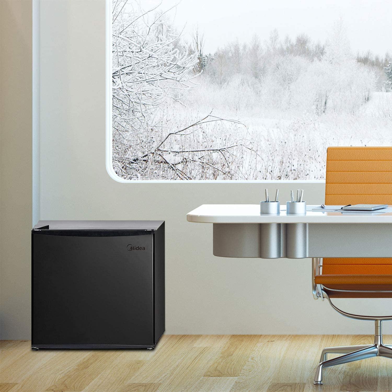 Midea MRU01M3ABB Freezer, 1.1 Cu.ft, Black