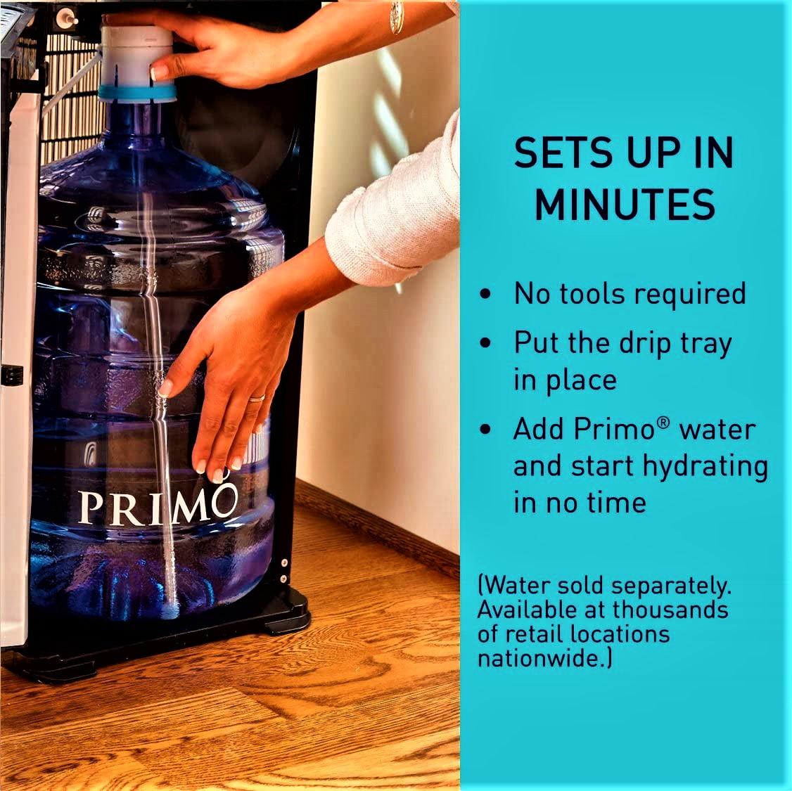 Primo Bottom Loading Water Cooler Dispenser Energy Star Rated Specs