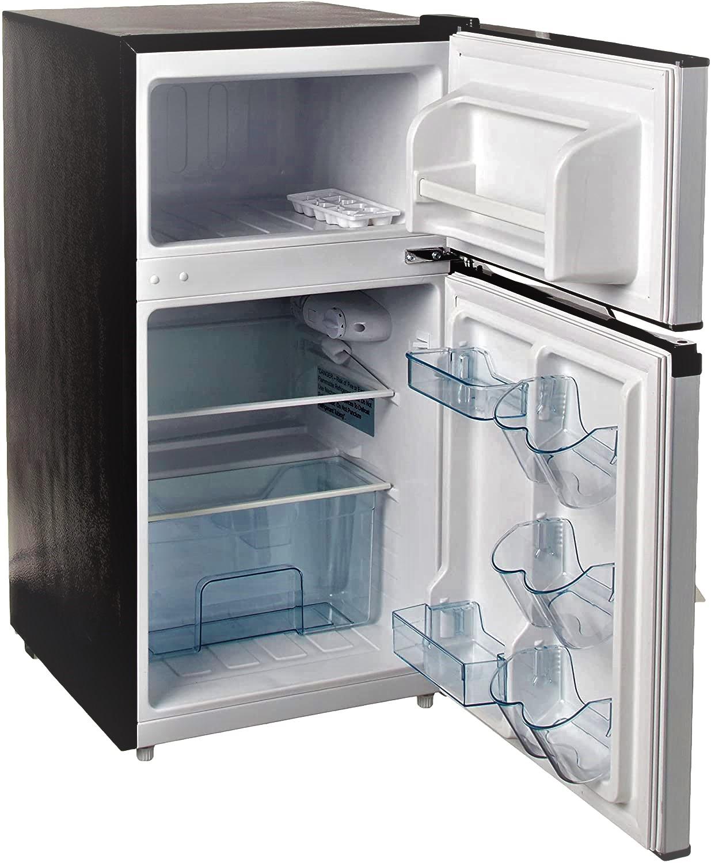 RCA 3.2 Cu Ft Two Door Fridge and Freezer Specs