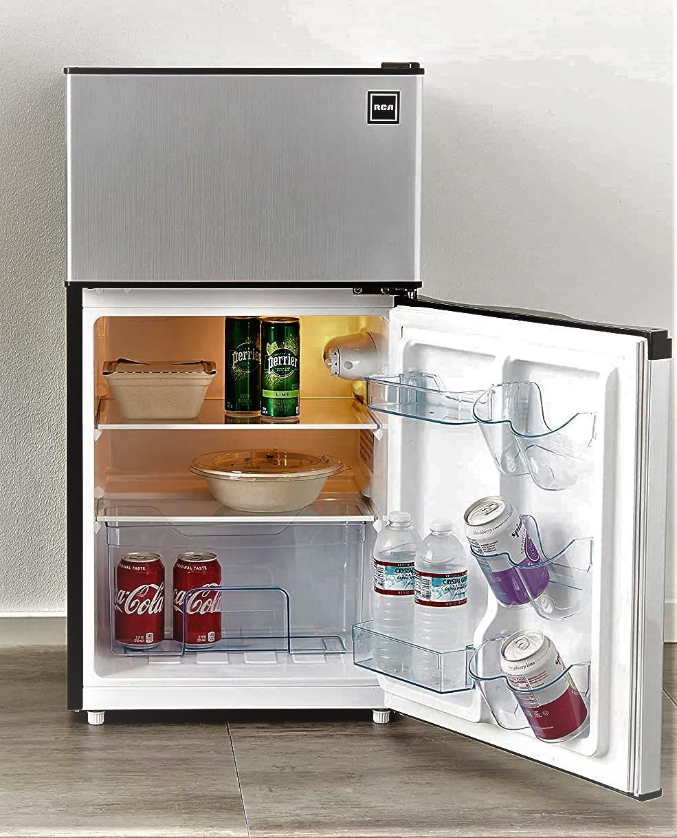 RCA 3.2 Cu Ft Two Door Fridge and Freezer