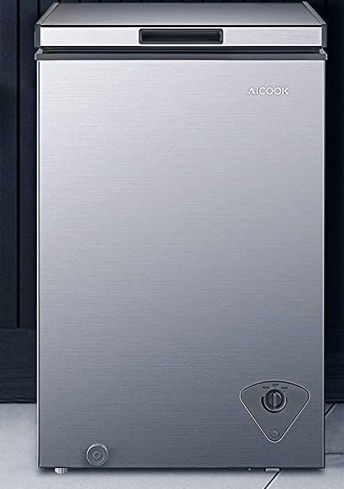 AICOOK  Chest Freezer, 3.5 Cu.Ft
